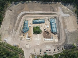 Schießstand Rhadereistedt - Bauphase